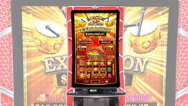Dancing Drums Explosion slot machine