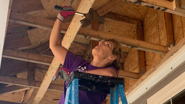 Hollywood Dayton helps Habitat for Humanity October 2020