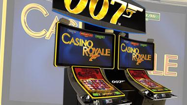 James Bond 007 Casino Royale slot machine