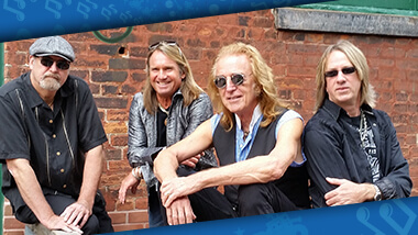Members of the band Foghat, which will perform at Hollywood Gaming at Dayton Raceway.
