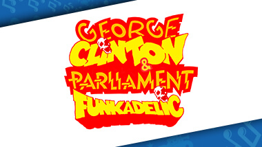 Logo for George Clinton and Parliament Funkadelic, who will perform at Hollywood Gaming at Dayton Raceway.